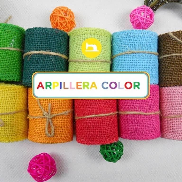 Tela Arpillera Yute Color - Trapitos.com.ar - Tienda de Telas por Metro Online